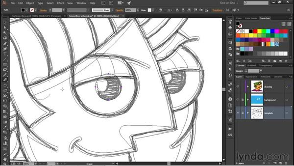 Painting with a few simple clicks: Illustrator CC 2015 One-on-One: Fundamentals