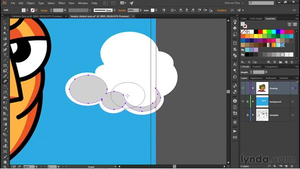 Reducing the roundness value: Illustrator CC 2015 One-on-One: Fundamentals