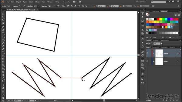 Creating corner points: Illustrator CC 2015 One-on-One: Fundamentals