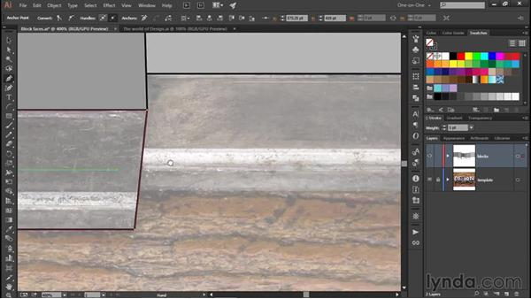 Drawing perspective edges: Illustrator CC 2015 One-on-One: Fundamentals