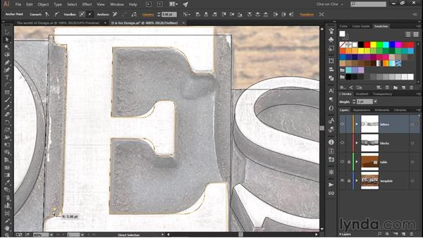 A preview of round corners: Illustrator CC 2015 One-on-One: Fundamentals