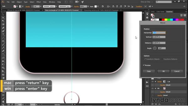 Drawing an iPhone: Illustrator CC 2015 One-on-One: Fundamentals