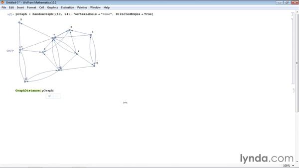 Calculating the shortest path between two points: Mathematica 10 Advanced Analysis