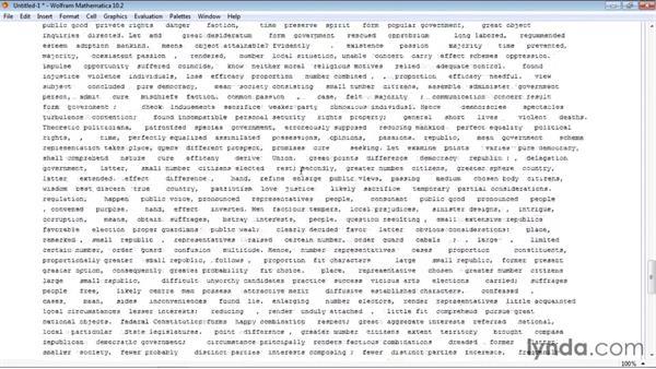 Preparing text data for natural language processing: Mathematica 10 Advanced Analysis
