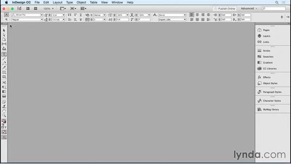 Making a simple template: Designing Templates with InDesign