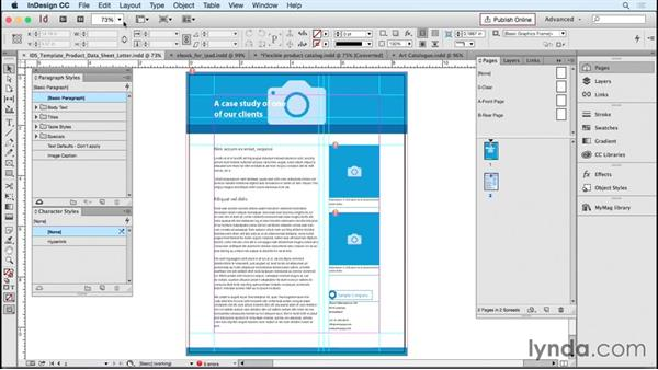 Finding and evaluating free and commercial InDesign templates: Designing Templates with InDesign