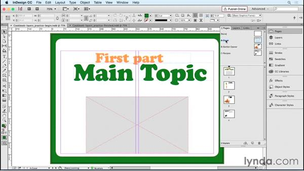 In Practice: Layers: Designing Templates with InDesign