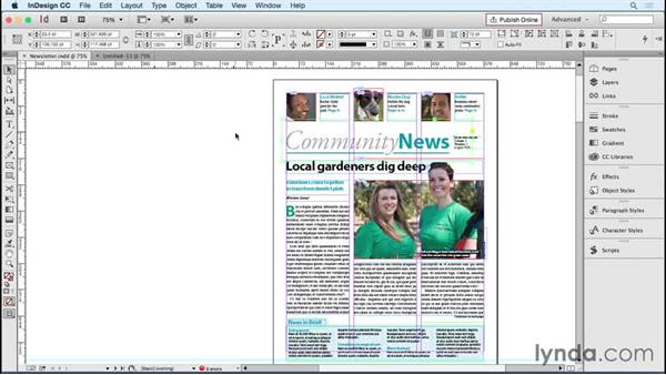 In Practice: Library and snippets: Designing Templates with InDesign