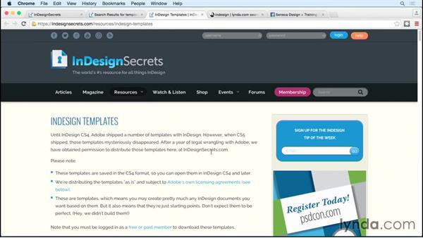 Next steps: Designing Templates with InDesign