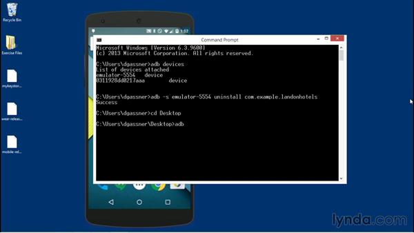 Installing apps on handheld and wearable devices: Building Apps for Android Wear Devices