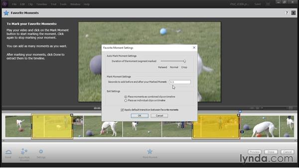 Editing with the Favorites tool: Up and Running with Premiere Elements 14