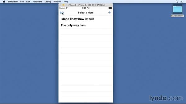 Welcome: Building a Note-Taking App for iOS 9 with Swift