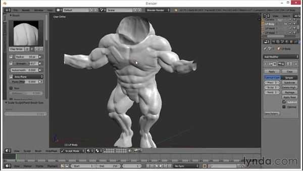 Welcome: Blender: Creating a Game Character