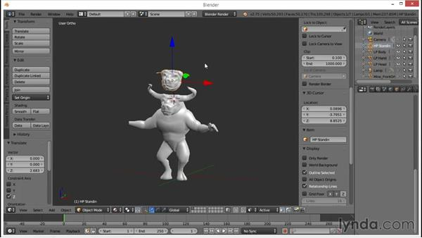 The multiresolution modifier: Blender: Creating a Game Character