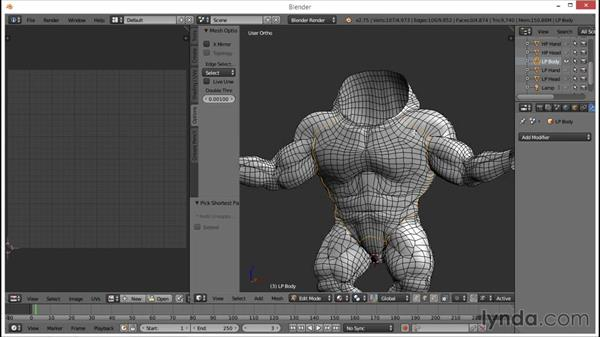 Overview of Blender unwrapping basics: Part 1: Blender: Creating a Game Character