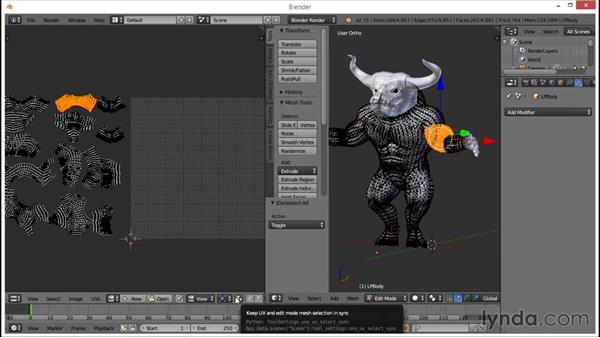 Overview of Blender unwrapping basics: Part 2