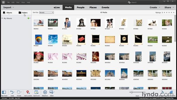Importing and using the exercise files: Photoshop Elements 14 Essential Training