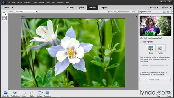 Working in Guided Edit: Photoshop Elements 14 Essential Training