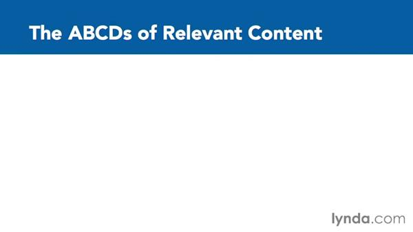 Defining relevance and understanding why it is important: Content Marketing: Staying Relevant