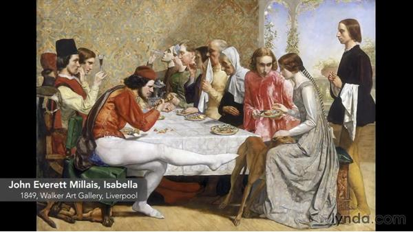 The Pre-Raphaelites: Foundations of Graphic Design History: The Arts and Crafts Movement