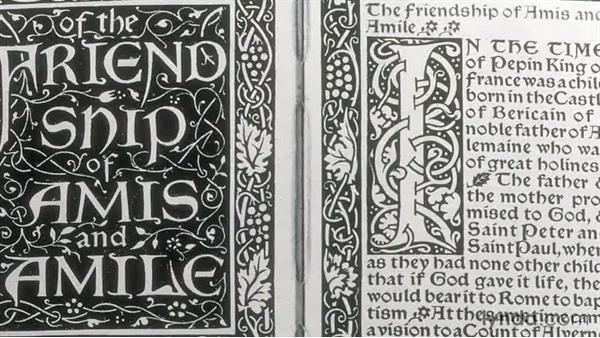 The Kelmscott Press: Foundations of Graphic Design History: The Arts and Crafts Movement