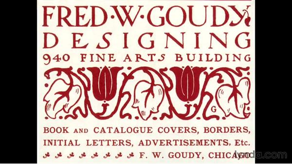 Typography: Foundations of Graphic Design History: The Arts and Crafts Movement