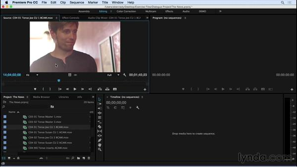 Choosing shots: Introduction to Video Dialogue Editing