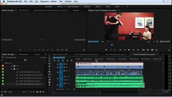 Finishing the edit and viewing the final cut: Introduction to Video Dialogue Editing