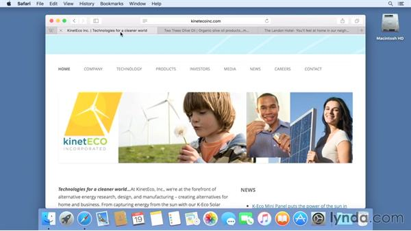 Using new Safari features: Mac OS X El Capitan New Features