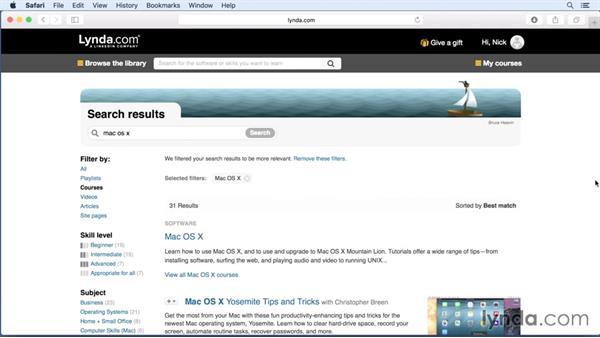 Next steps: Mac OS X El Capitan New Features
