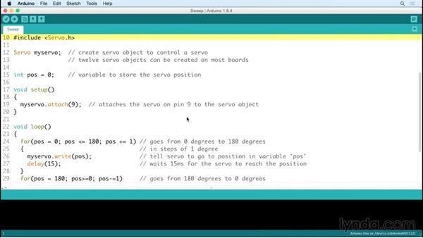 Implementing basic servo control: Arduino Pulse Width Modulation