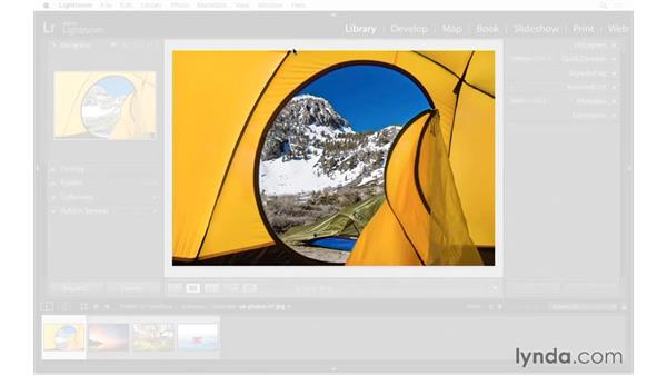 Lights Out and Interface preferences: Exploring Lightroom: Power Shortcuts