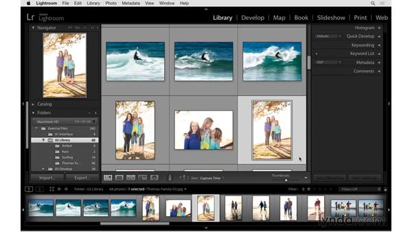Understanding image views and view options: Exploring Lightroom: Power Shortcuts