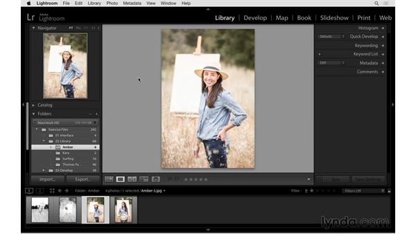 Using the Rename, Rotate, and Zoom tools: Exploring Lightroom: Power Shortcuts