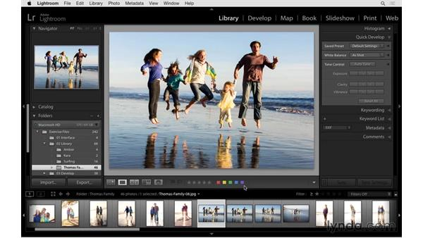 Working with stars, labels, or flags: Exploring Lightroom: Power Shortcuts