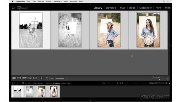 Working with groups and stacks: Exploring Lightroom: Power Shortcuts
