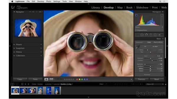 More efficient imaging processing: Exploring Lightroom: Power Shortcuts