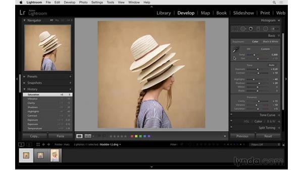 Using the keyboard to process your images: Exploring Lightroom: Power Shortcuts