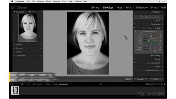 Better black-and-white photographs: Exploring Lightroom: Power Shortcuts