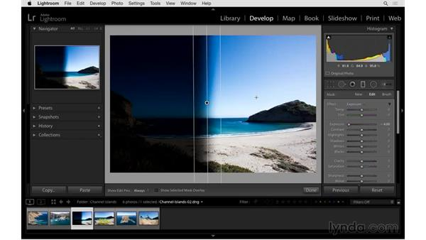 Inverting the Graduated and Radial Filters: Exploring Lightroom: Power Shortcuts