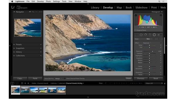 Fine-tuning the Radial Filter: Exploring Lightroom: Power Shortcuts