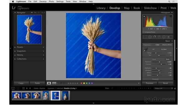 Cropping power tips: Exploring Lightroom: Power Shortcuts