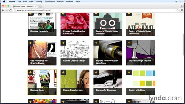 Browsing and watching learning guides and curated playlists: Up and Running with LinkedIn Premium Job Seeker