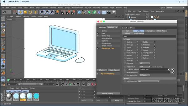 Welcome: Creating Motion Graphics with Sketch and Toon in CINEMA 4D