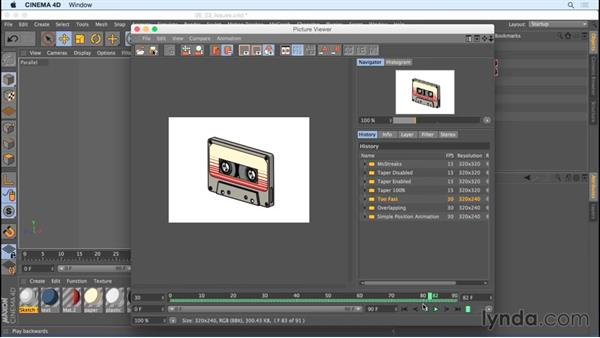 Avoiding problems with drawing strokes on animated objects: Creating Motion Graphics with Sketch and Toon in CINEMA 4D