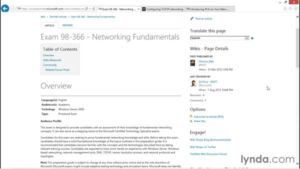 Next steps: Foundations of Networking: IP Addressing
