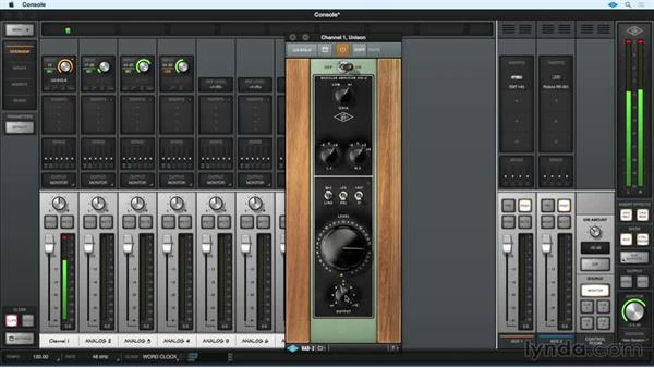 Real-time tracking with Unison: Up and Running with Universal Audio UAD-2/Apollo