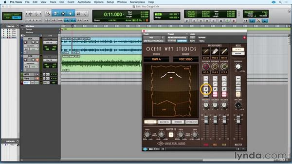 Ocean Way Studios Reverb: Up and Running with Universal Audio UAD-2/Apollo