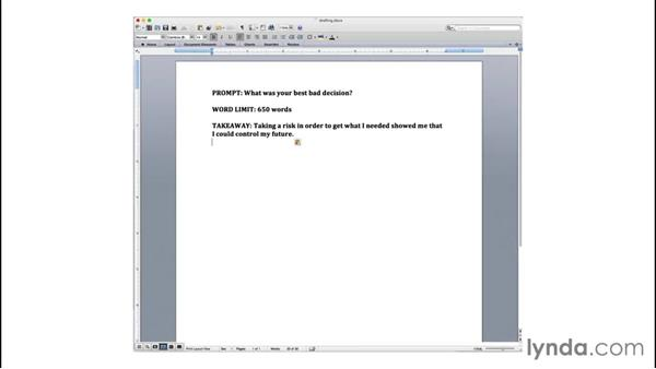 Getting started with drafting: College Prep: Writing a Strong Essay
