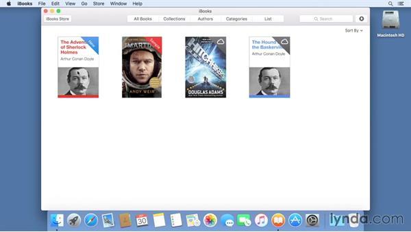 iBooks: Mac OS X El Capitan Essential Training